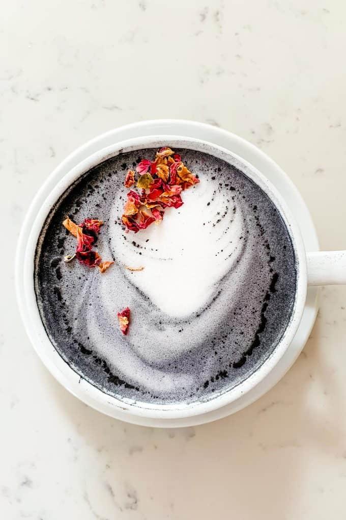 The Best Downtown Charleston Restaurants - Basic Kitchen charcoal latte