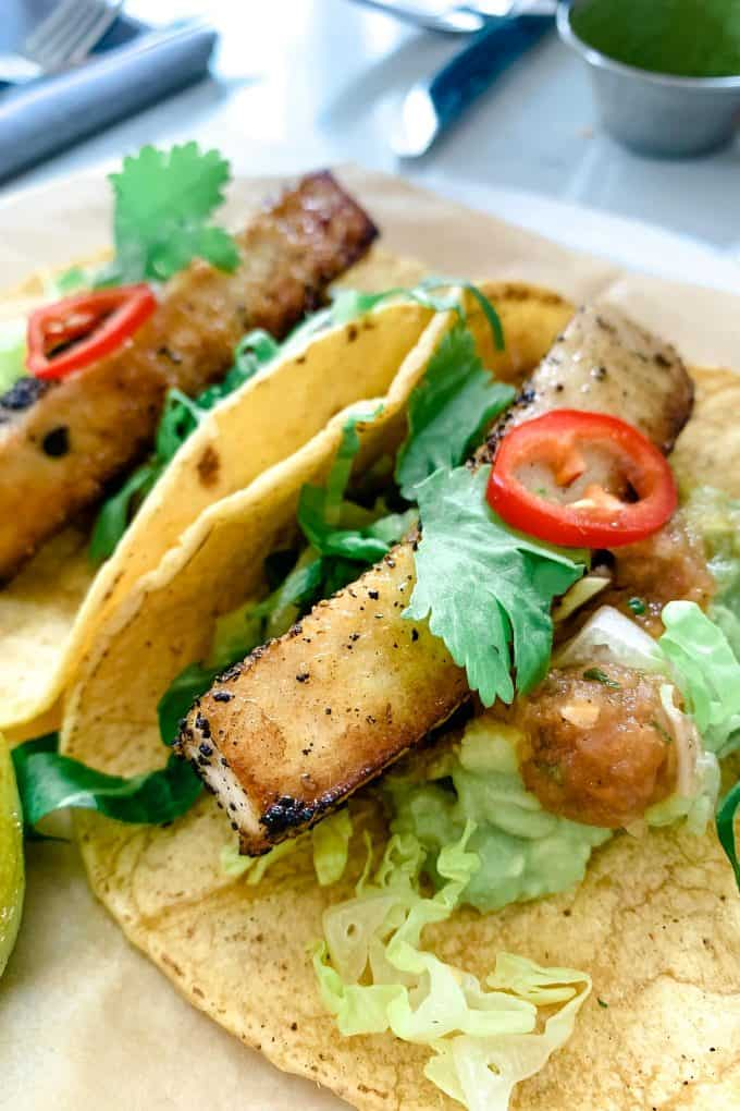 The Best Downtown Charleston Restaurants - Basic Kitchen fish tacos