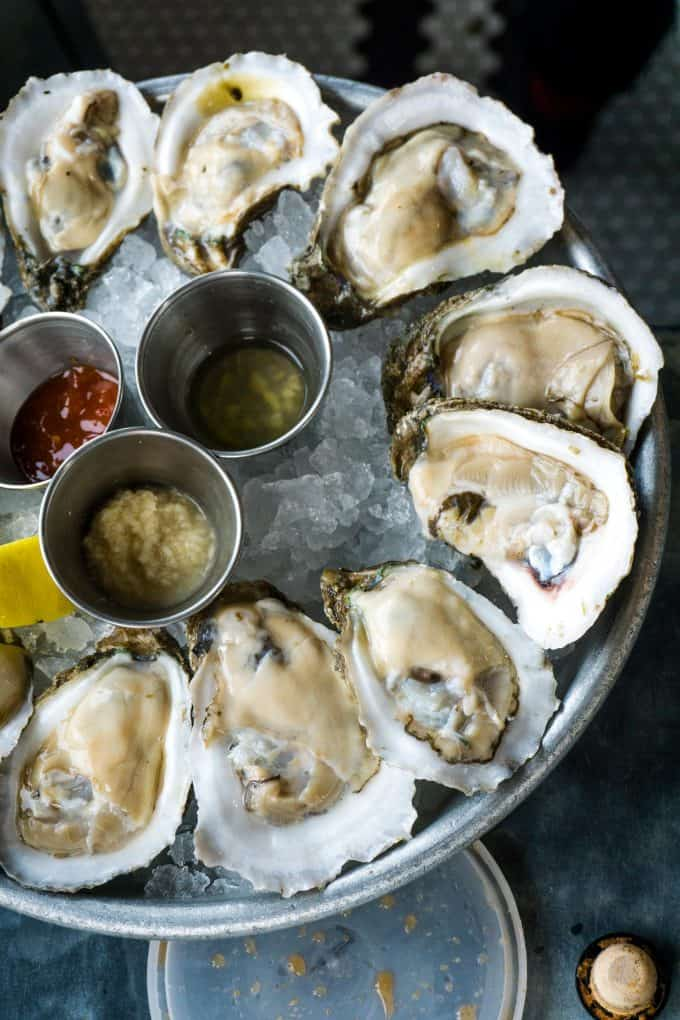 The Best Downtown Charleston Restaurants - The Darling Oyster Bar oysters