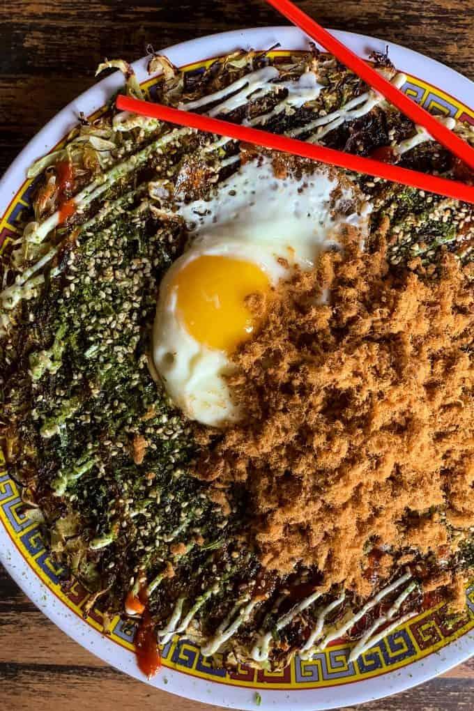 The Best Downtown Charleston Restaurants - Xiao Bao Biscuit okonamiyaki