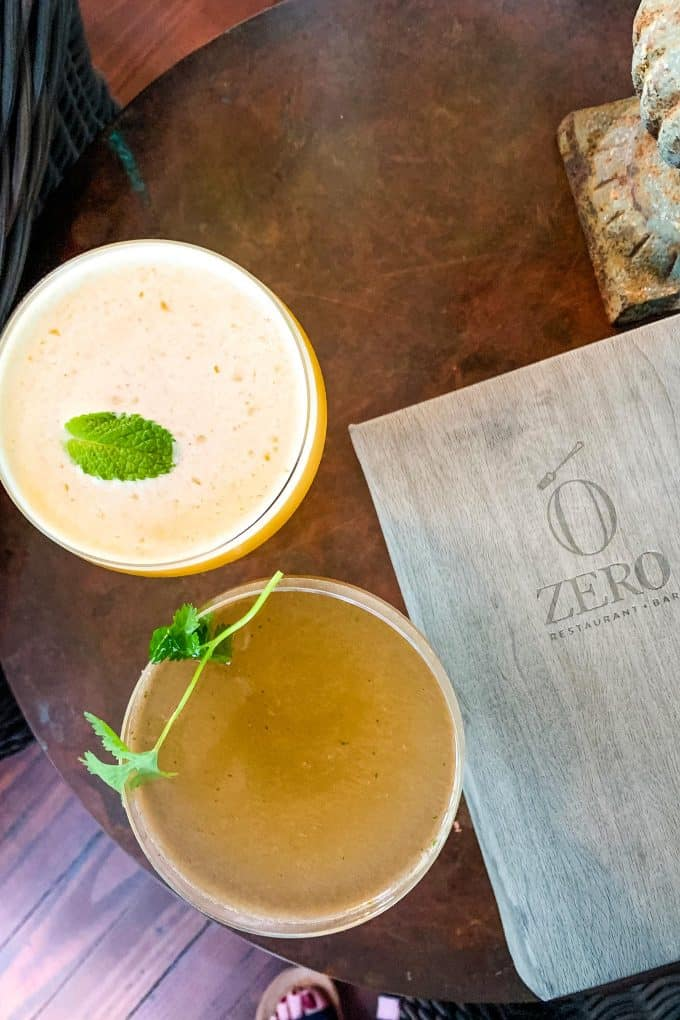 The Best Downtown Charleston Restaurants - Zero cocktails
