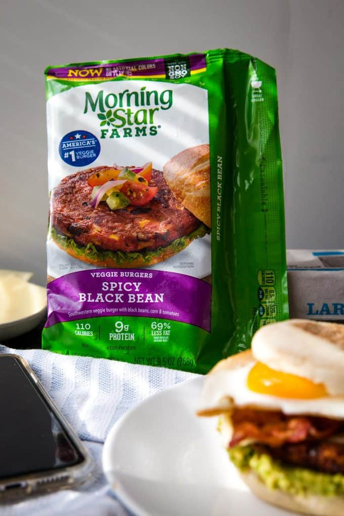 morning star spicy black bean burgers