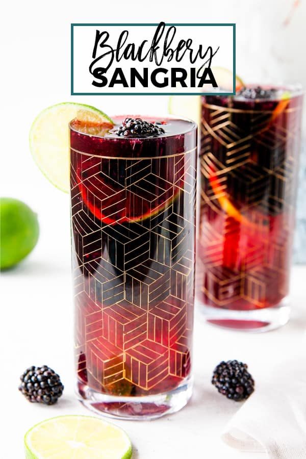 blackberry sangria recipe pinterest image