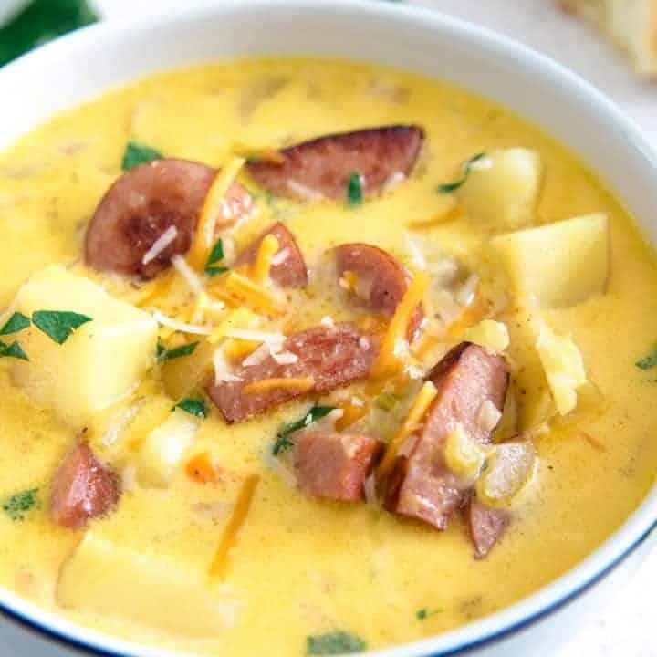 Potato Kielbasa Soup