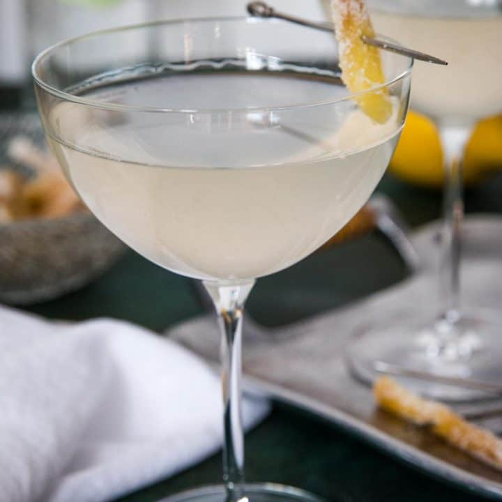 Gin Ginger Martini