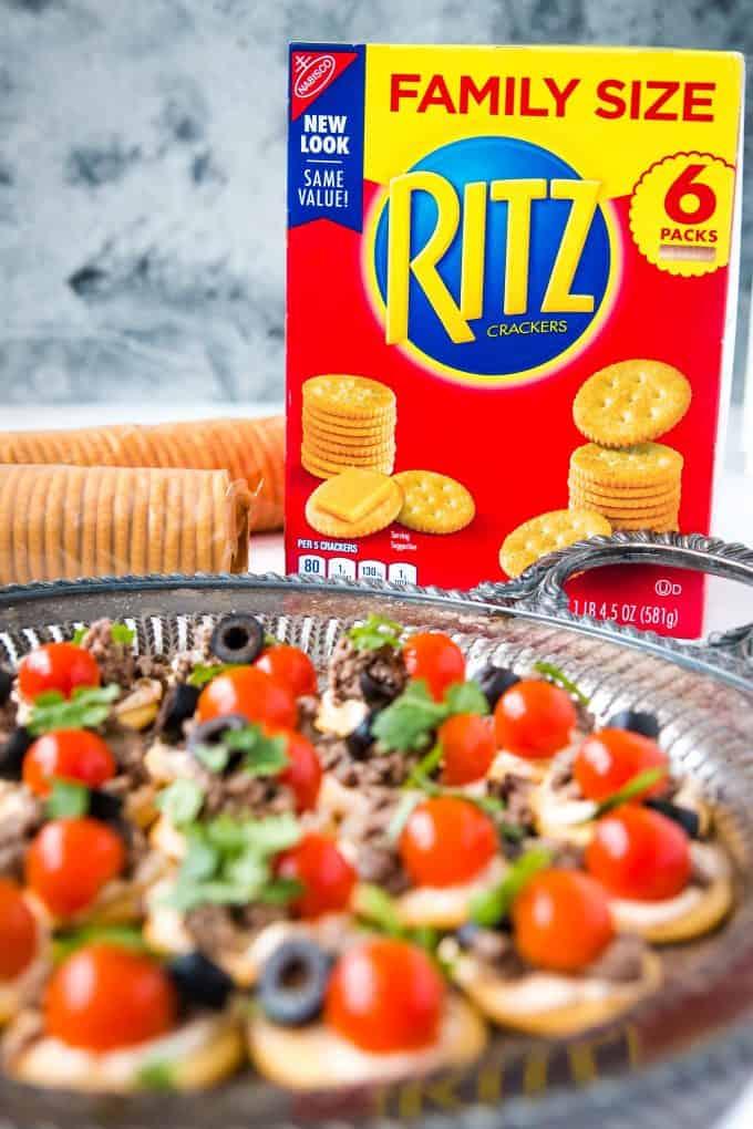 ritz cracker family size box