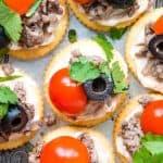 closeup photo of RITZ taco bites