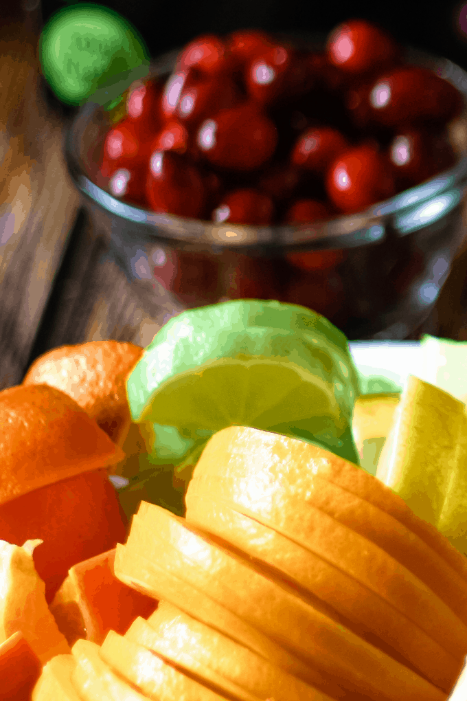 citrus fruits that are perfect for sangria - limes, oranges, lemons, and mandarins